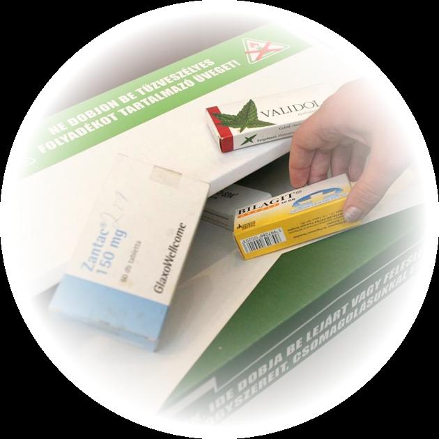Gyógyszerhulladékot és lejárt gyógyszereit leadhatja patikánkban